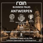 rain BUSINESS TALKS ANTWERPEN