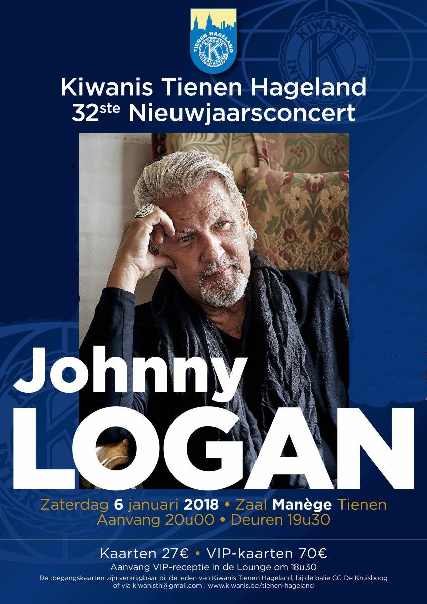 Nieuwjaarsconcert Johnny Logan - Stad Tienen
